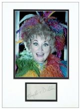 Phyllis Diller Autograph Signed Display
